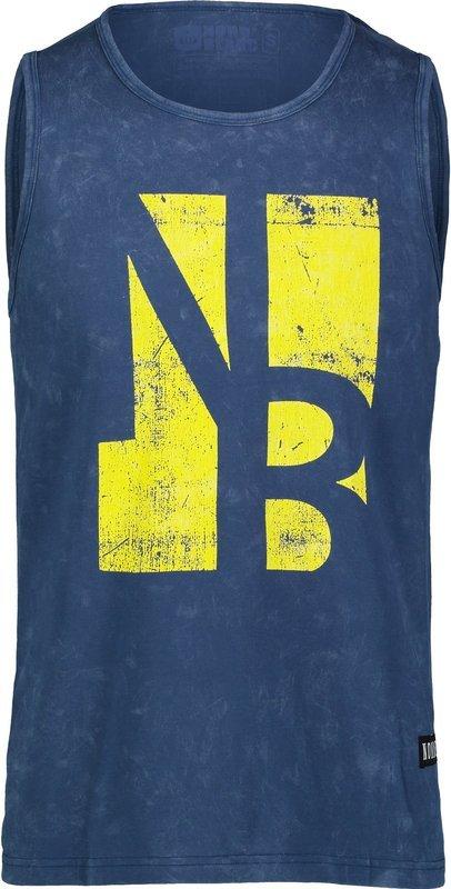 Pánske bavlnené tielko NORDBLANC Border NBSMT6818_MHZ S