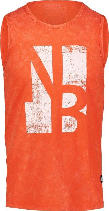 Pánske bavlnené tielko NORDBLANC Border NBSMT6818_ZRC S