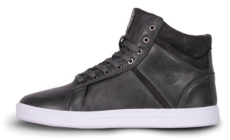 Pánske kožené topánky NORDBLANC Hľadieť NBHC6875 GRA 41 3db9e2079ec