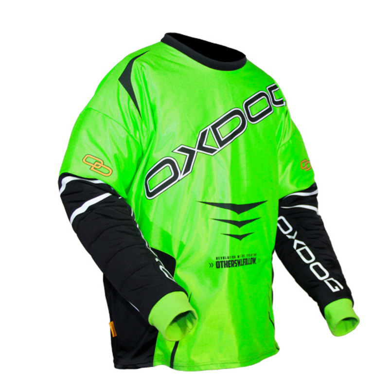 Brankársky dres Oxdog GATE GOALIE SHIRT green - black