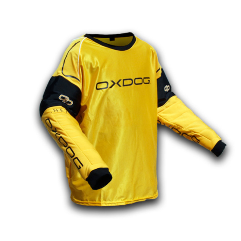 Brankársky dres Oxdog BLOCKER GOALIE SHIRT orange - black