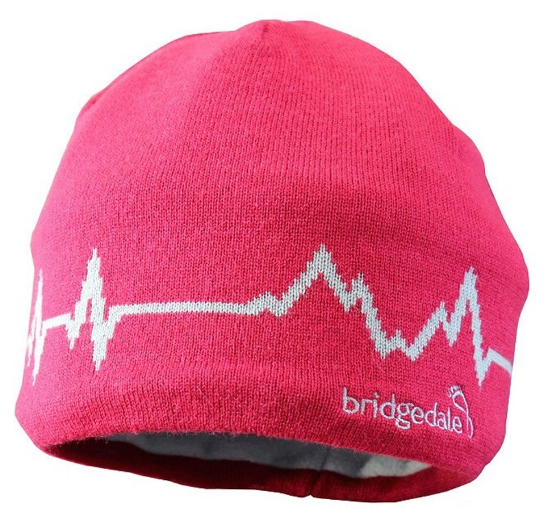 Čiapky Bridgedale Pulse 0017 red / grey