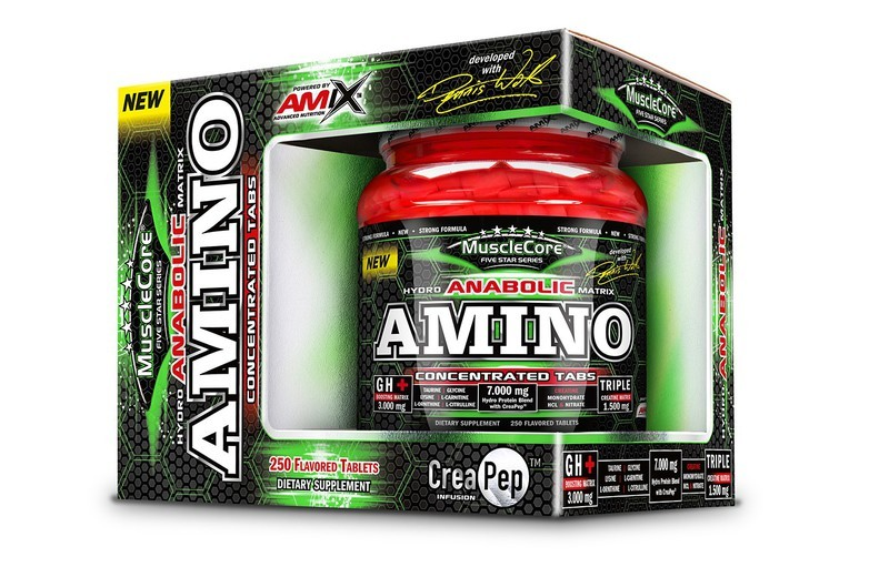 Amix Amino Tabs with CreaPep®