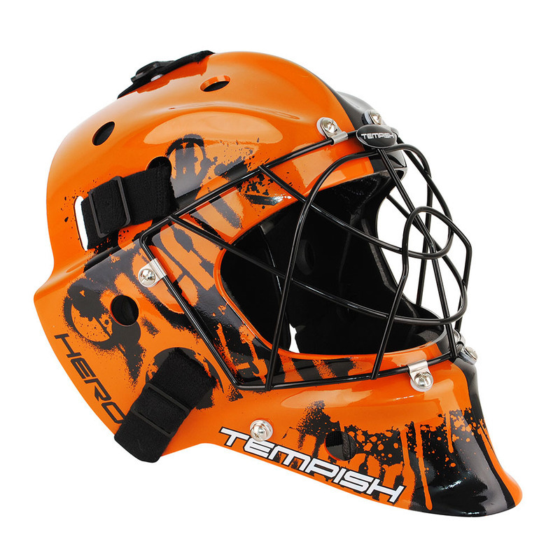 Brankárska maska Tempish Hero color senior orange