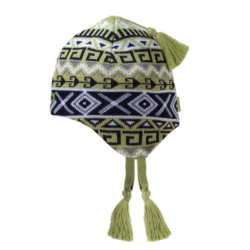 00fd51dde850 Detská pletená čiapka Kama B64 105 zelená