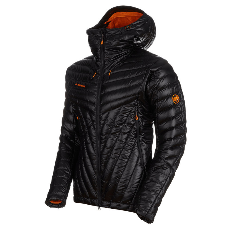 Pánska bunda Mammut Eigerjoch Advanced IN Hooded Jacket Men black 0001 M
