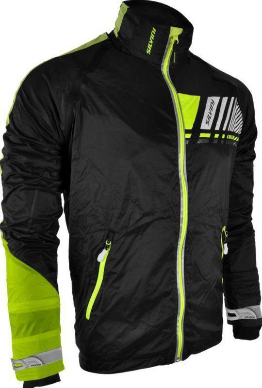 Pánska bunda Silvini OMBRONE MJ706 black-neon M