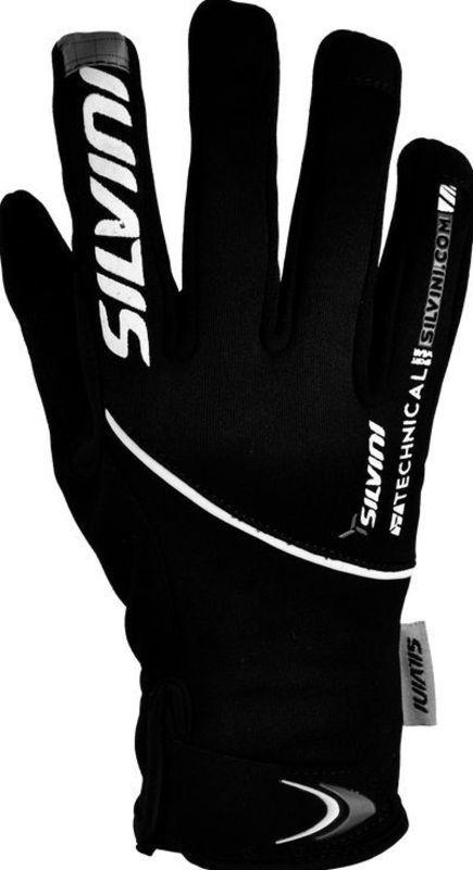 Dámske rukavice Silvini ORTLES WA723 black-charcoal L