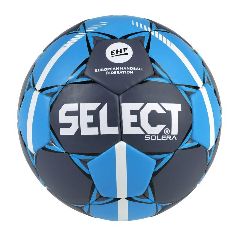 Hádzanárska lopta Select HB Solera šedo modrá