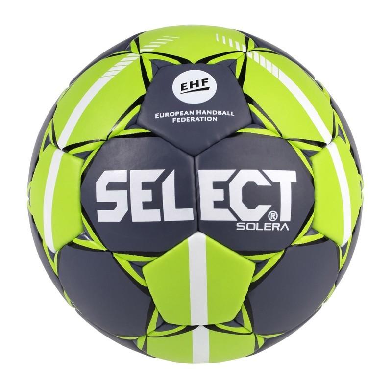 Hádzanárska lopta Select HB Solera šedo zelená