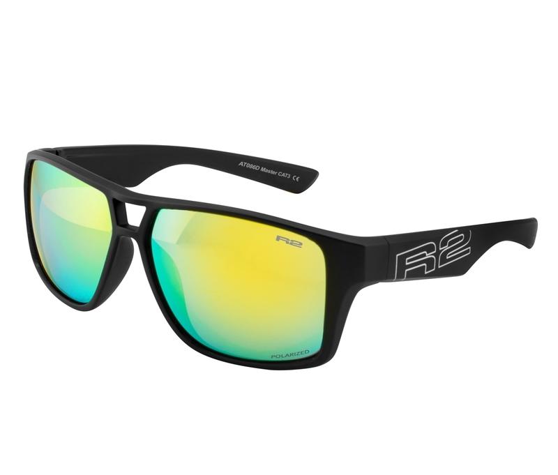 Športové slnečné okuliare R2 MASTER čierne AT086D