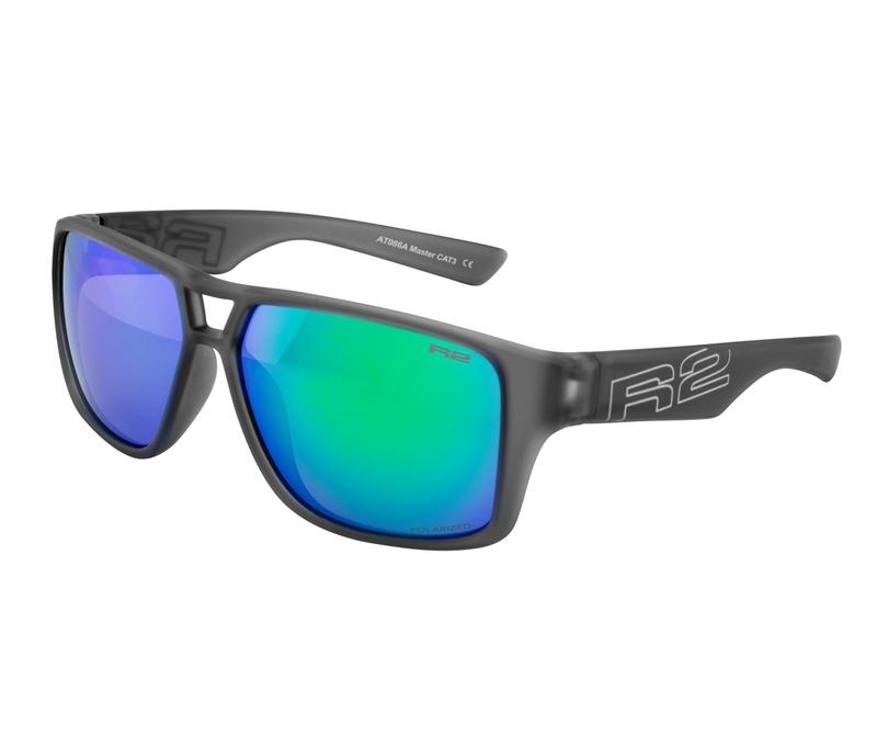 Športové slnečné okuliare R2 MASTER šedé AT086A