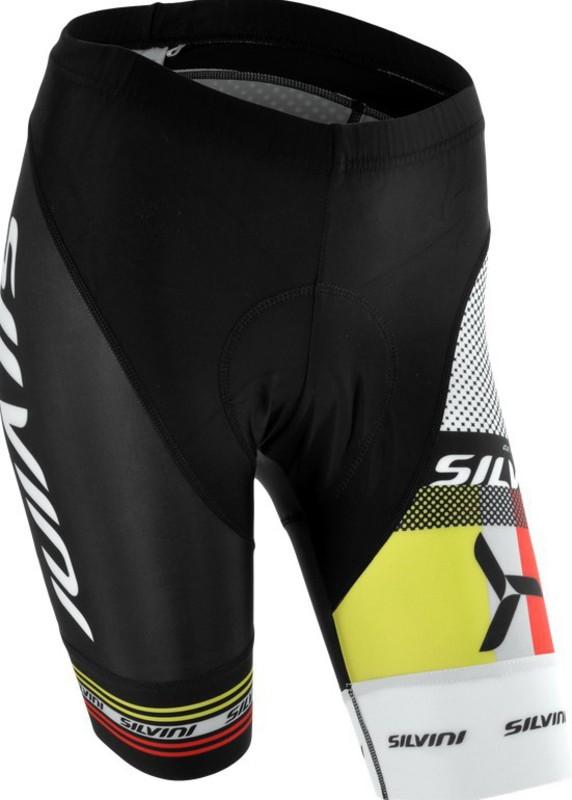 Dámske cyklistické nohavice pás Silvini TEAM WP840 black
