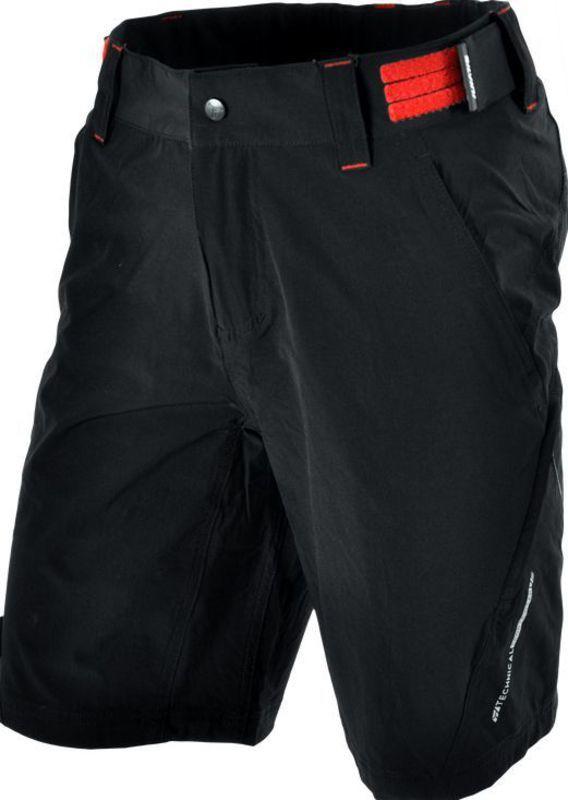 e1cafea439f88 Pánske MTB cyklistické nohavice Silvini ELVO MP809 black-red