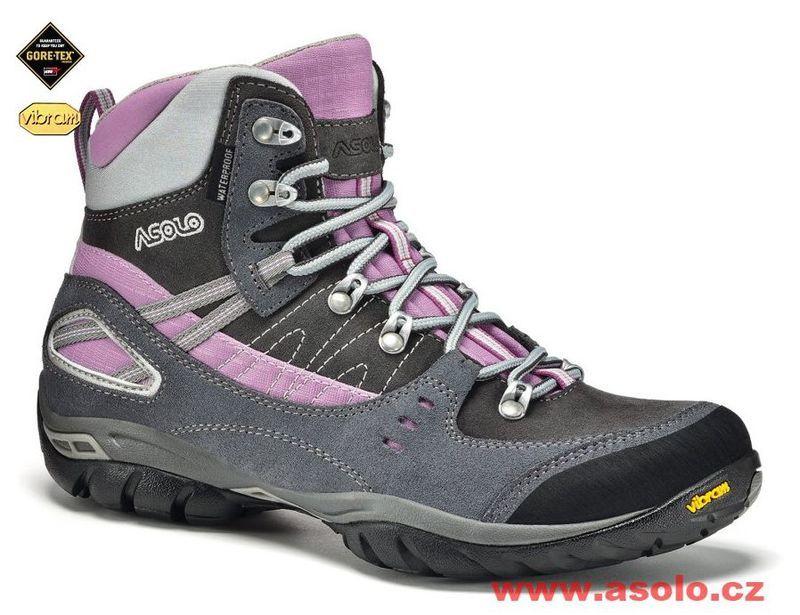 Dámske topánky Asolo Yuma GV A610 grey   graphite 477a88da879