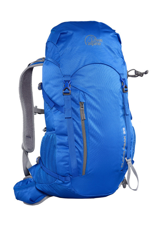 Lowe Alpine Cloud Peak ND sea blue pumpkin 35l