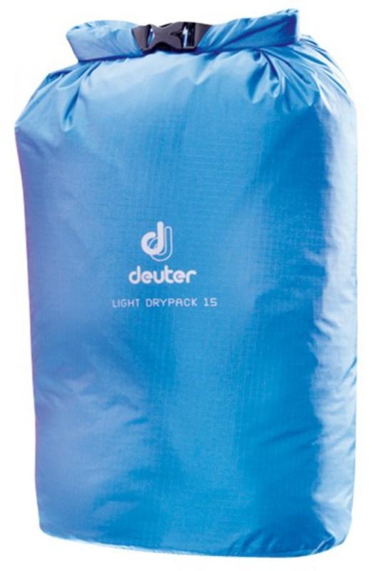 Vodotesný vak Deuter Light Drypack 15 coolblue (39272)