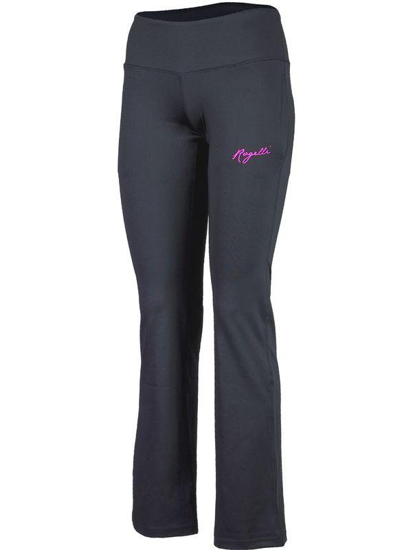 603590663b74 Dámske fitness nohavice Rogelli Fadya čierno-ružové 050.208 XL