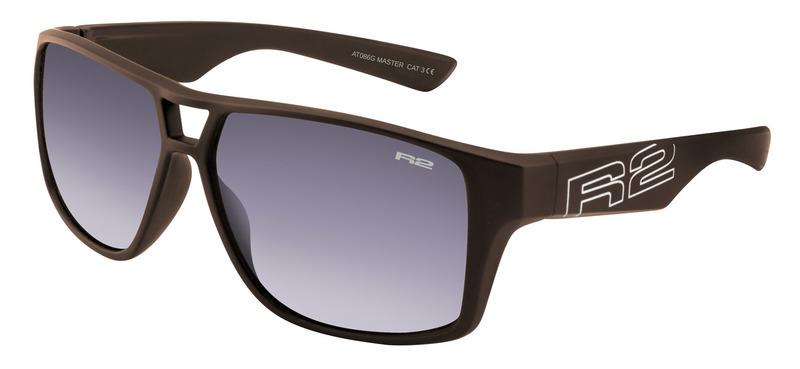 Športové slnečné okuliare R2 MASTER čierne AT086G