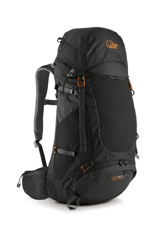 Batoh Lowe Alpine AirZone Trek+ 45:55 black