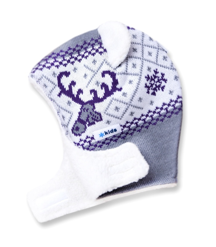 Detská pletená kukly-čiapky Kama B16 109 sivá XS e4cbae2f17f