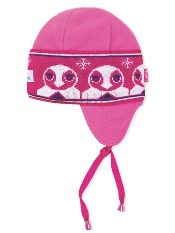 Detská pletená čiapka Kama B50 114 ružová XXS