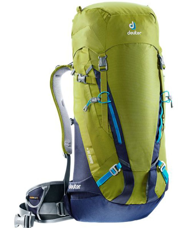 Batoh Deuter Guide 35+ moss-navy (3361117)