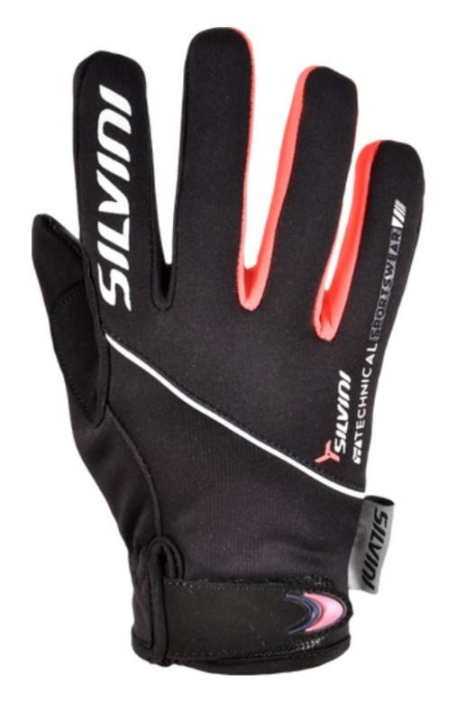 Detské rukavice Silvini Ortles CA1139 black-punch 13-14