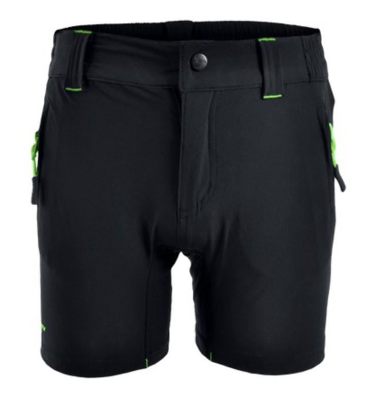 Detské MTB nohavice Silvini ARVO CP813 black-green