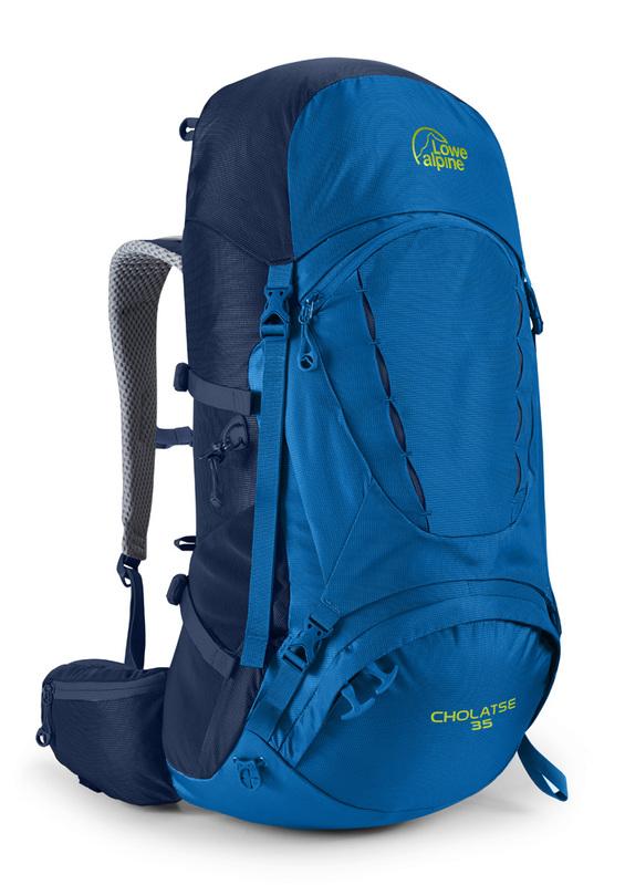 Batoh Lowe alpine Cholatse 35 giro / blue print / gi