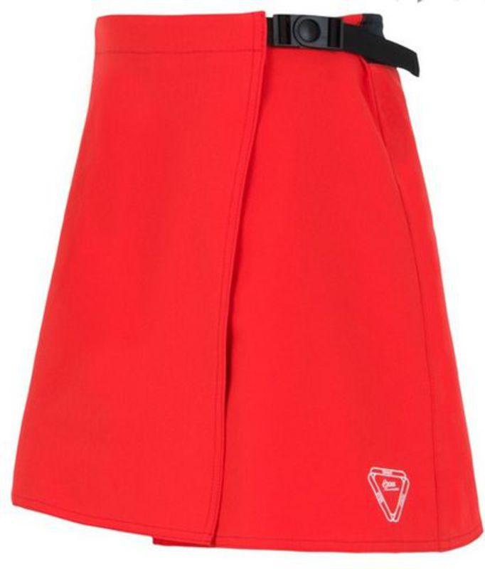 Dámska cyklistická sukňa Sensor CYKLO LUNA červená 15100116 XL