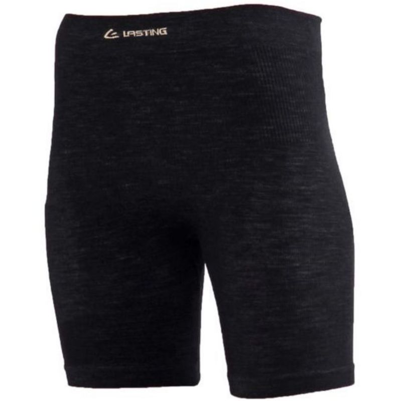 Dámske vlnené nohavičky Lasting Wavion 9090 čierna L/XL