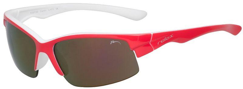 Detské slnečné okuliare RELAX Cantin červené R3073B