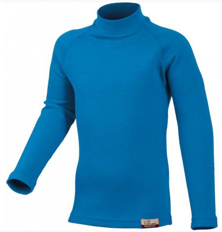 Detské vlnené triko Lasting Sony 5151 modrá 110