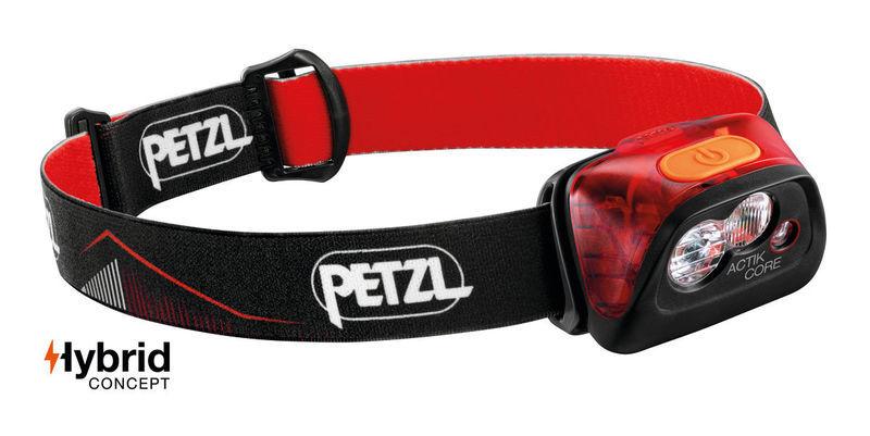 čelovka Petzl Actik Core červená E099GA01