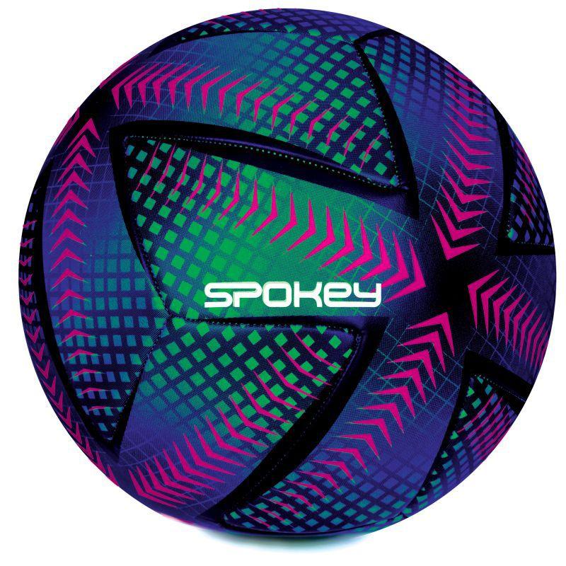 Futbalový lopta Spokey SWIFT fialovo-zelený vel.5