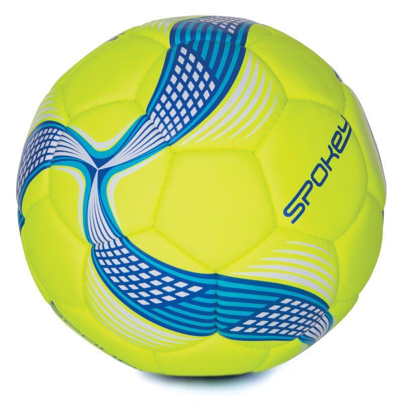 Futbalový lopta Spokey COSMIC limeta-modrý vel.5