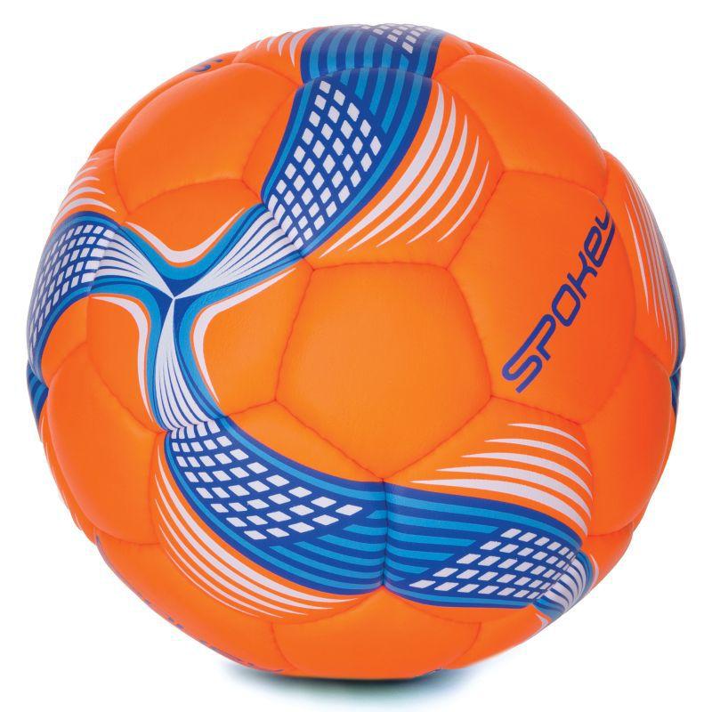 Futbalový lopta Spokey COSMIC oranžovo-modrý vel.5
