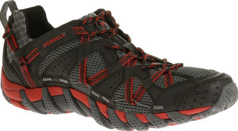Topánky Merrell WATERPRO MAIPO black / red J65231