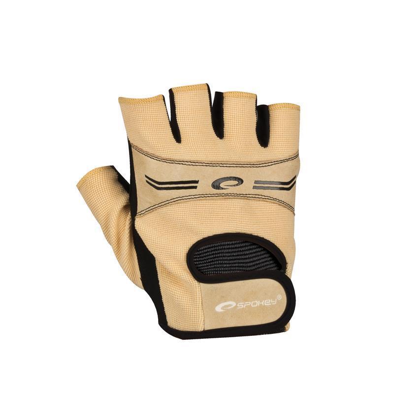 Dámske Fitness rukavice Spokey ELENA béžové