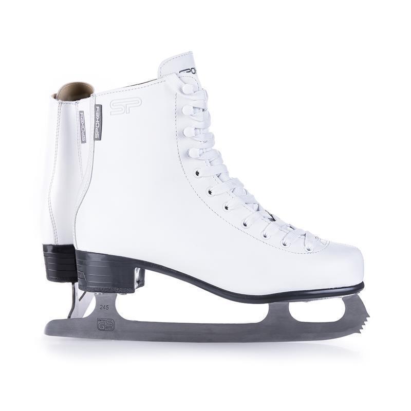 Krasokorčuliarske korčule Spokey Kilian biele