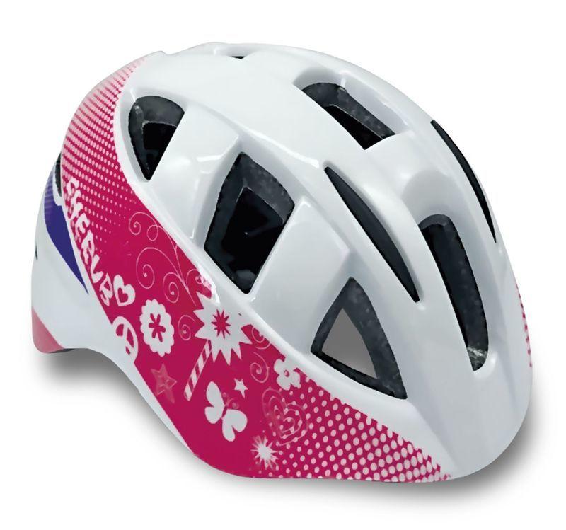 Detská cyklistická prilba Spokey CHERUB biela 5c6388a626f