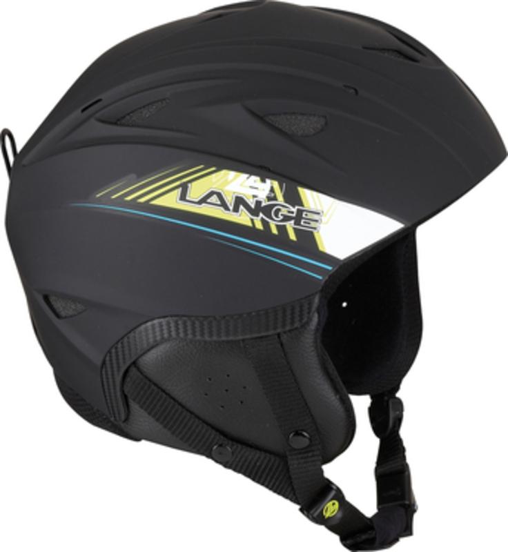 Lyžiarska helma Lange RX BLUE/LIME LK1H200