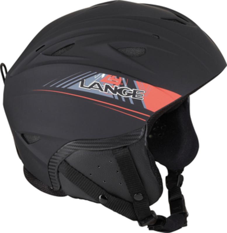Lyžiarska helma Lange RX BLACK/RED LK1H201