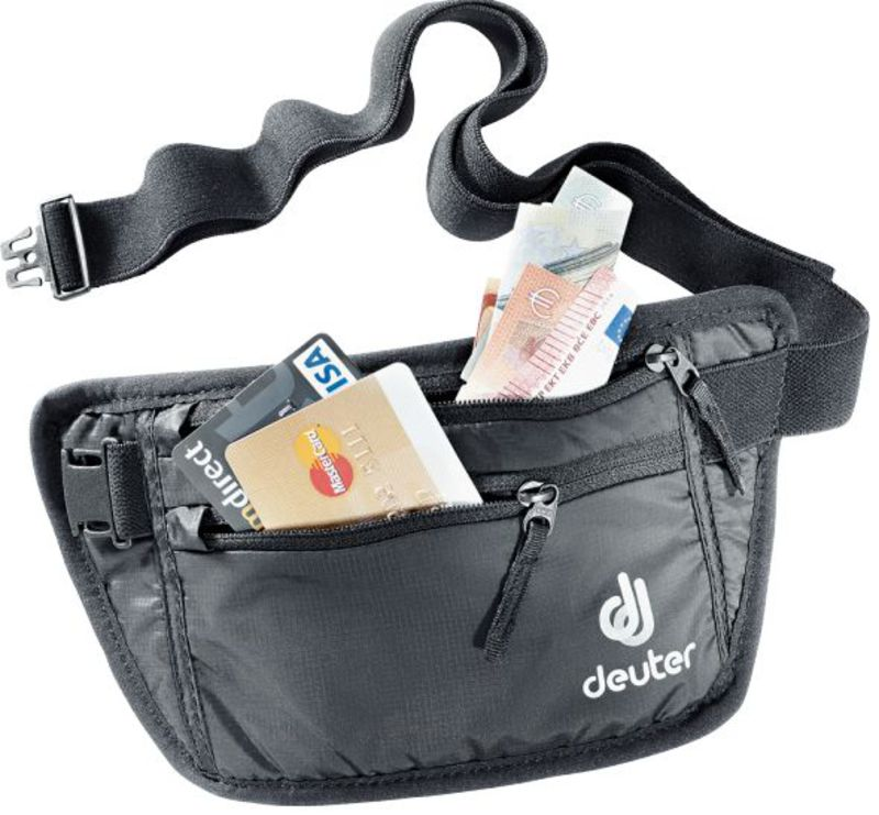 Ľadvinka Deuter Security Money Belt I black (3910216)