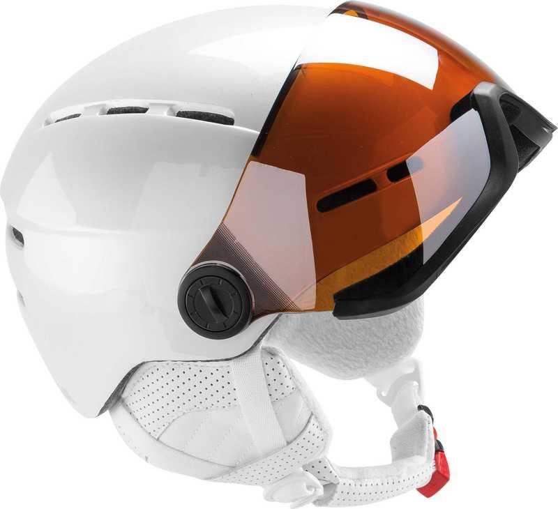 Lyžiarska helma Rossignol Visor Lady Single Lense RKFH400