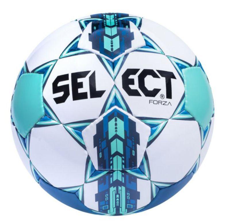Lopta Select FORZA modro biela