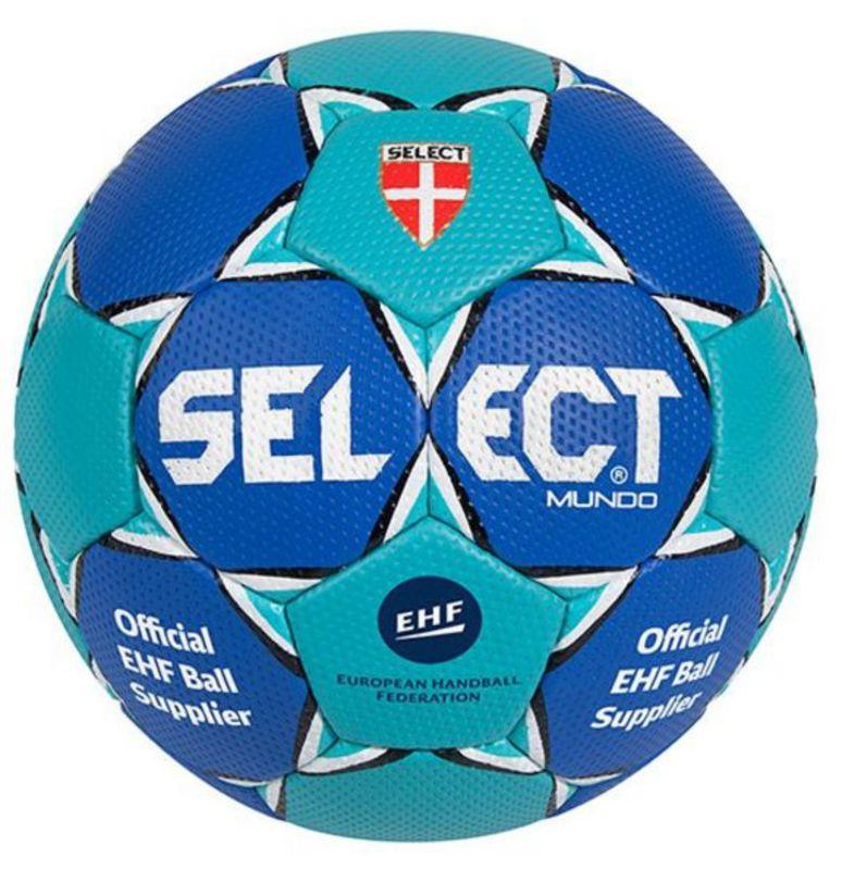 Lopta Select Mundo modrá