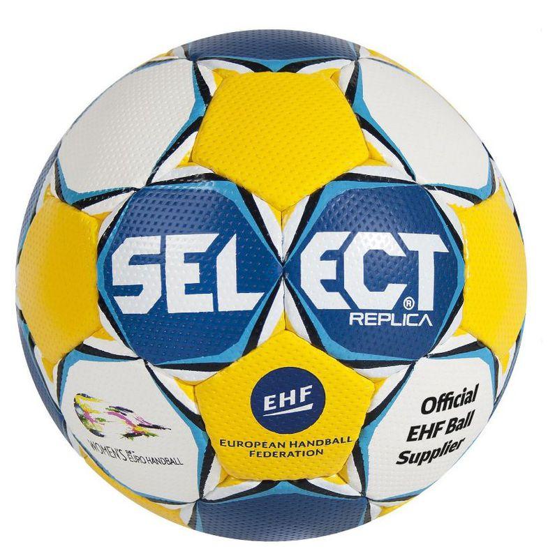 Lopta Select Ultimate Replica EC Sweden modro žltá