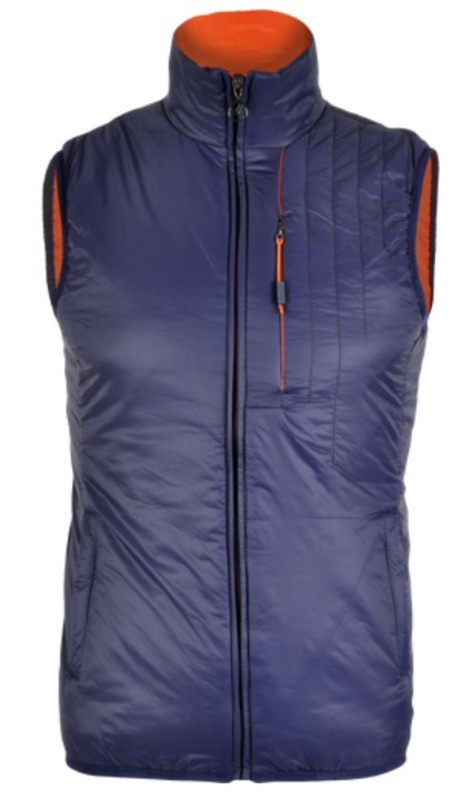 Pánska vesta Silvini TICINO MJ1104 navy-orange XL